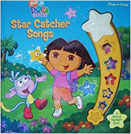 Dora clipart click stars to rate clip art royalty free download Dora the Explorer Star Catcher Songs (Play-a-Song) (Play-a-Song ... clip art royalty free download