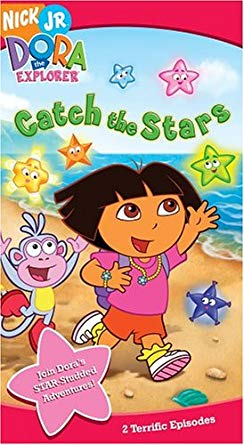 Dora clipart click stars to rate png library stock Amazon.com: Dora the Explorer: Catch the Stars [VHS]: Dora the ... png library stock