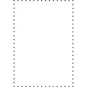Dot border clipart