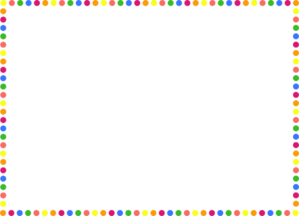Images gallery for download. Free polka dot border clipart