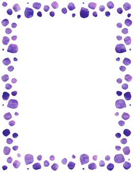 Dotted border clipart clip art royalty free download Clip Art- Watercolor Polka Dot Borders and Backgrounds clip art royalty free download