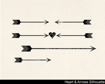 Double arrow clipart silhouette - ClipartFest banner royalty free stock
