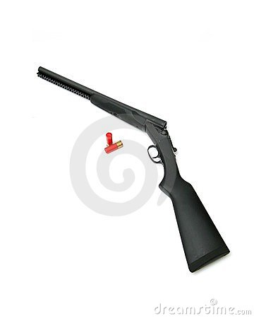 Double barrel shotgun clipart clipart free stock Double Barrel Shotgun Royalty Free Stock Images - Image: 23814389 clipart free stock