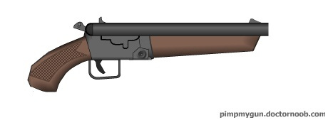 Double barrel shotgun clipart freeuse Sawn Off Double Barrel Shotgun | Just for you, deadly :p | Flickr freeuse