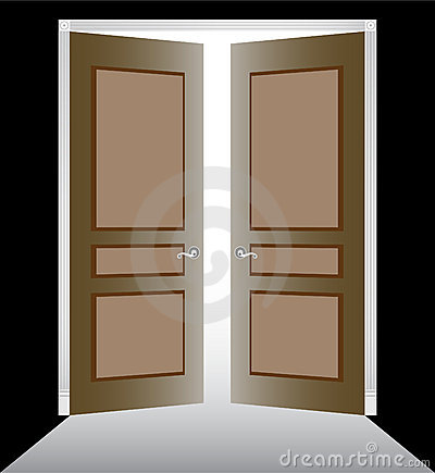 Double door clipart jpg library library Open double doors clipart - ClipartFest jpg library library