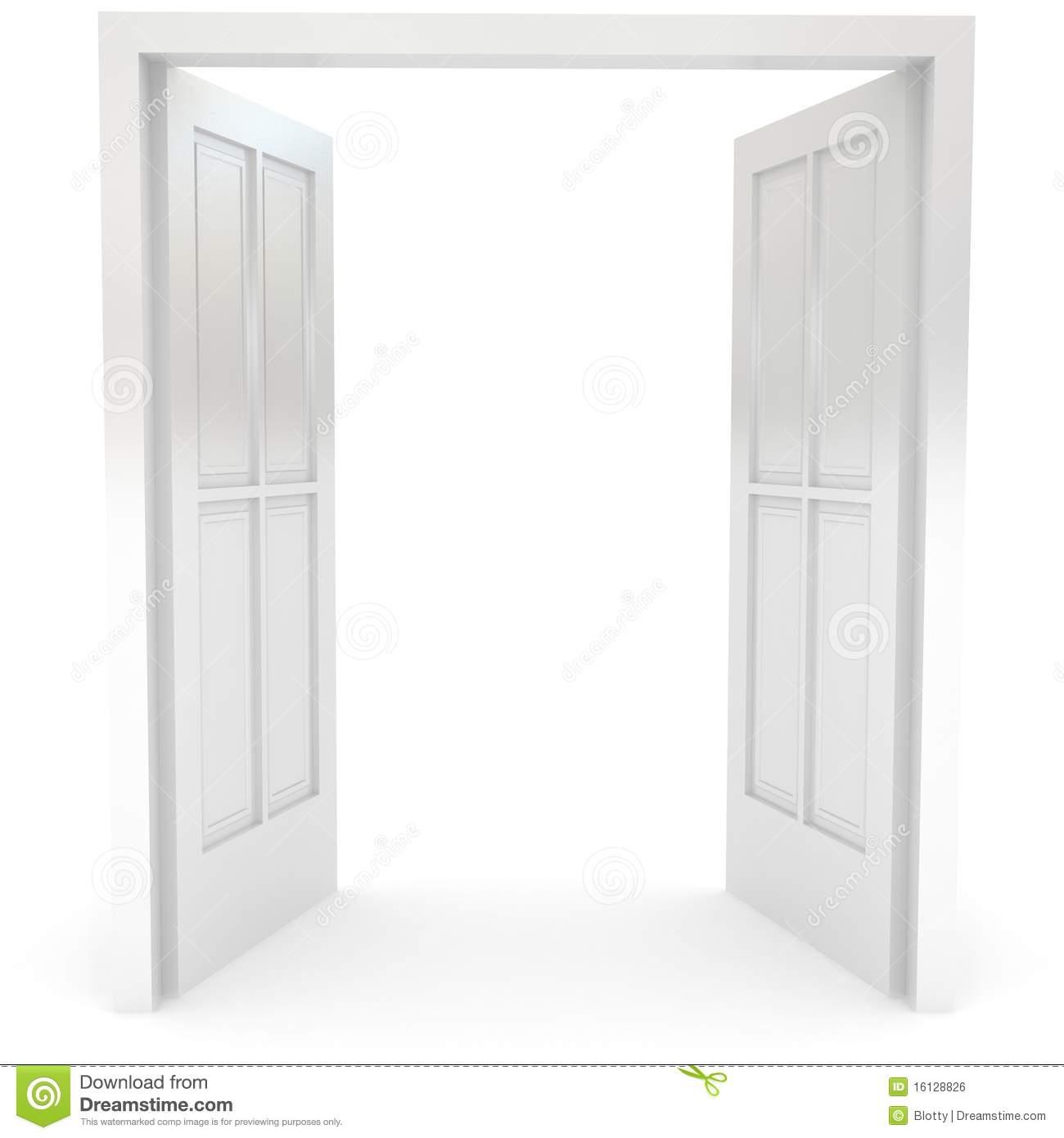 Double door clipart image freeuse Open Double Door Clipart Inspiration 211925 Doors - hyunky.com image freeuse