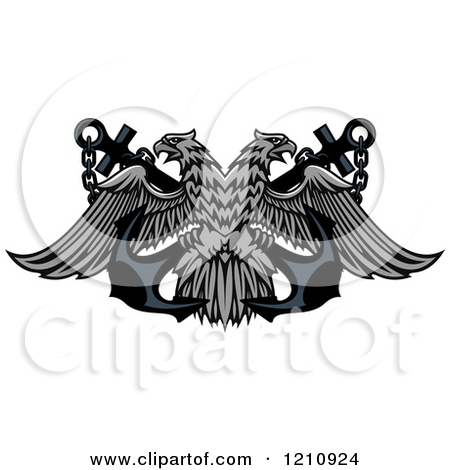 Double eagle clipart clip library Royalty-Free (RF) Double Eagle Clipart, Illustrations, Vector ... clip library