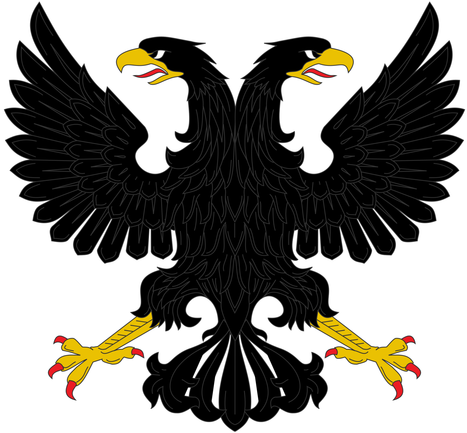 Double eagle clipart clip art library library Double headed eagle clipart - ClipartFest clip art library library