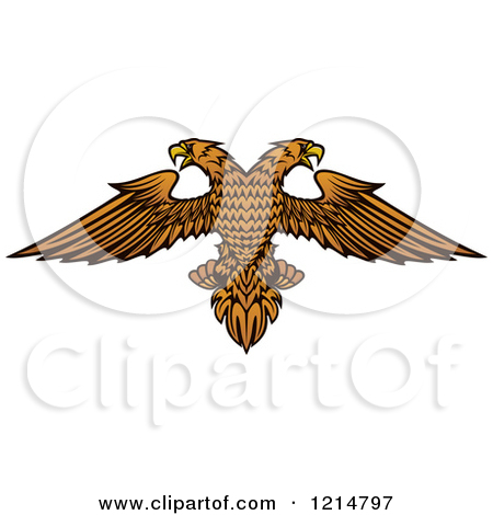 Double eagle clipart clipart transparent library Royalty-Free (RF) Double Eagle Clipart, Illustrations, Vector ... clipart transparent library