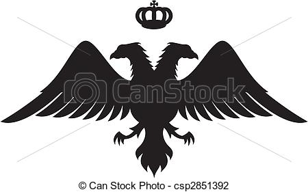 Double eagle clipart image black and white download Double eagle Illustrations and Clipart. 146 Double eagle royalty ... image black and white download