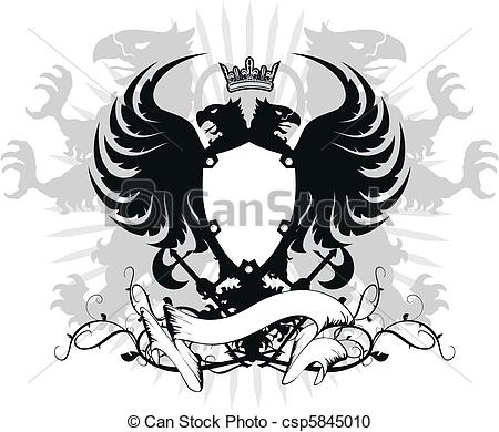 Double eagle clipart image royalty free download Double eagle Illustrations and Clipart. 146 Double eagle royalty ... image royalty free download