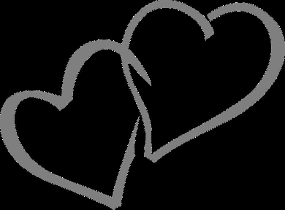 Rustic heart clipart graphic transparent library Double Hearts (63+) graphic transparent library