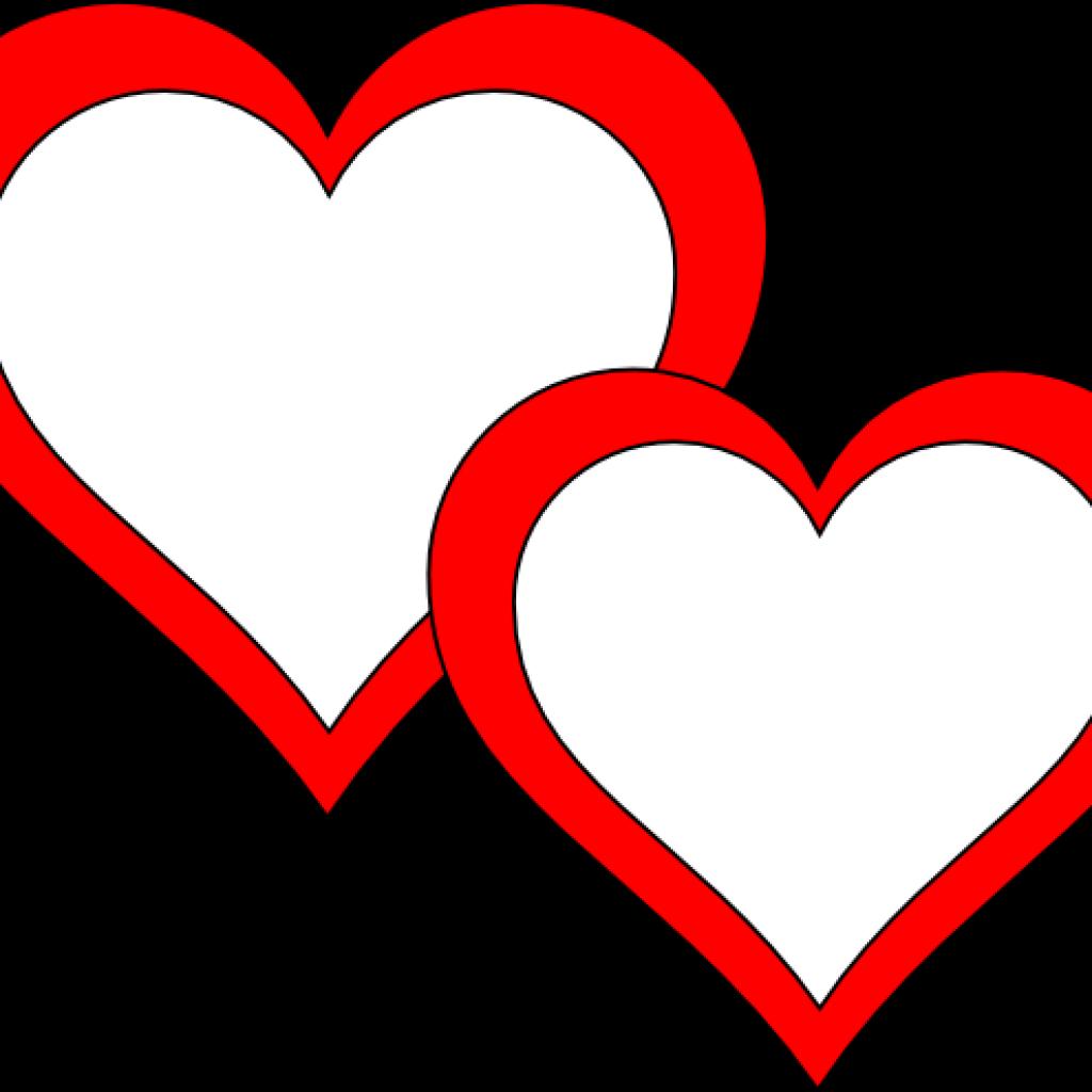 Double heart clipart clip art transparent Double Heart Clipart frog clipart hatenylo.com clip art transparent