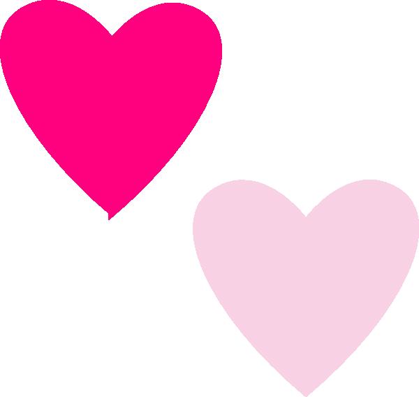 Pink double heart clipart download Pink Double Hearts Clip Art at Clker.com - vector clip art online ... download