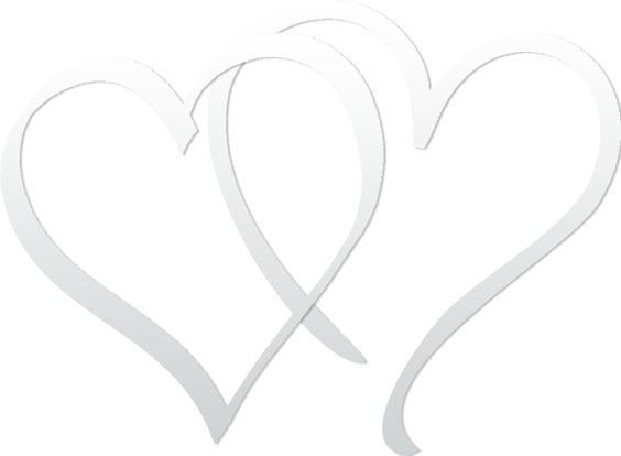 Double heart clipart wedding vector transparent stock DOUBLE HEARTS | CLIP ART - HEARTS - CLIPART | Pinterest | Pink ... vector transparent stock