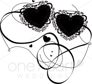 Double hearts wedding clipart transparent download Clipart wedding hearts - ClipartFest transparent download