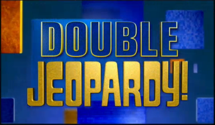 Double jeopardy picture black and white stock Image - Jeopardy! 2005-2006 Double Jeopardy! title card.png | Game ... picture black and white stock