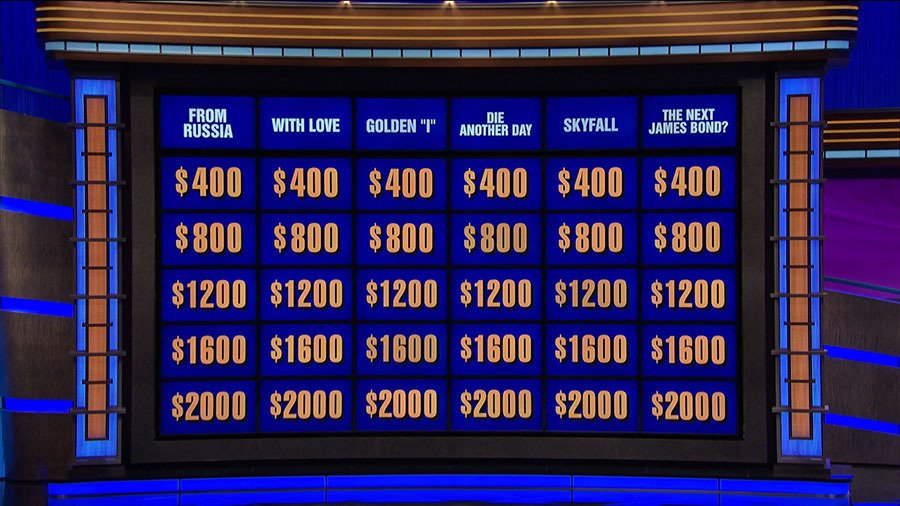 Double jeopardy vector freeuse download Double 'Jeopardy's' James Bond round puts your 007 ... vector freeuse download