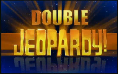 Double jeopardy graphic freeuse Image - Jeopardy! 2007-2008 Double Jeopardy! title card.png | Game ... graphic freeuse