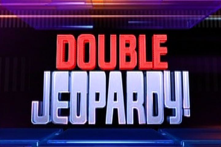 Double jeopardy graphic royalty free Double Jeopardy! graphic royalty free