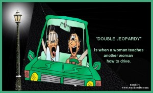Double jeopardy clipart