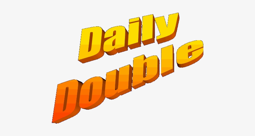 Double jeopardy clipart jpg black and white stock Double Jeopardy Clipart 5 By Bradley - Daily Double Clipart - Free ... jpg black and white stock