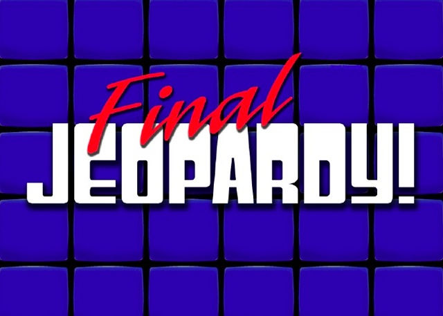 Double jeopardy clipart image library library FINAL JEOPARDY PART 1: Production Facts - Questions you should know ... image library library