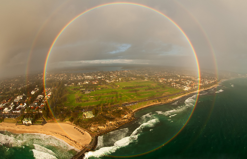 Double rainbow banner library download Complete double rainbow encircles Australian town | Science News banner library download
