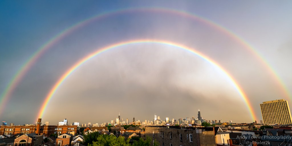 Double rainbow picture freeuse download Chicago Wowed By Double Rainbow After Storms Pass | The Weather ... picture freeuse download