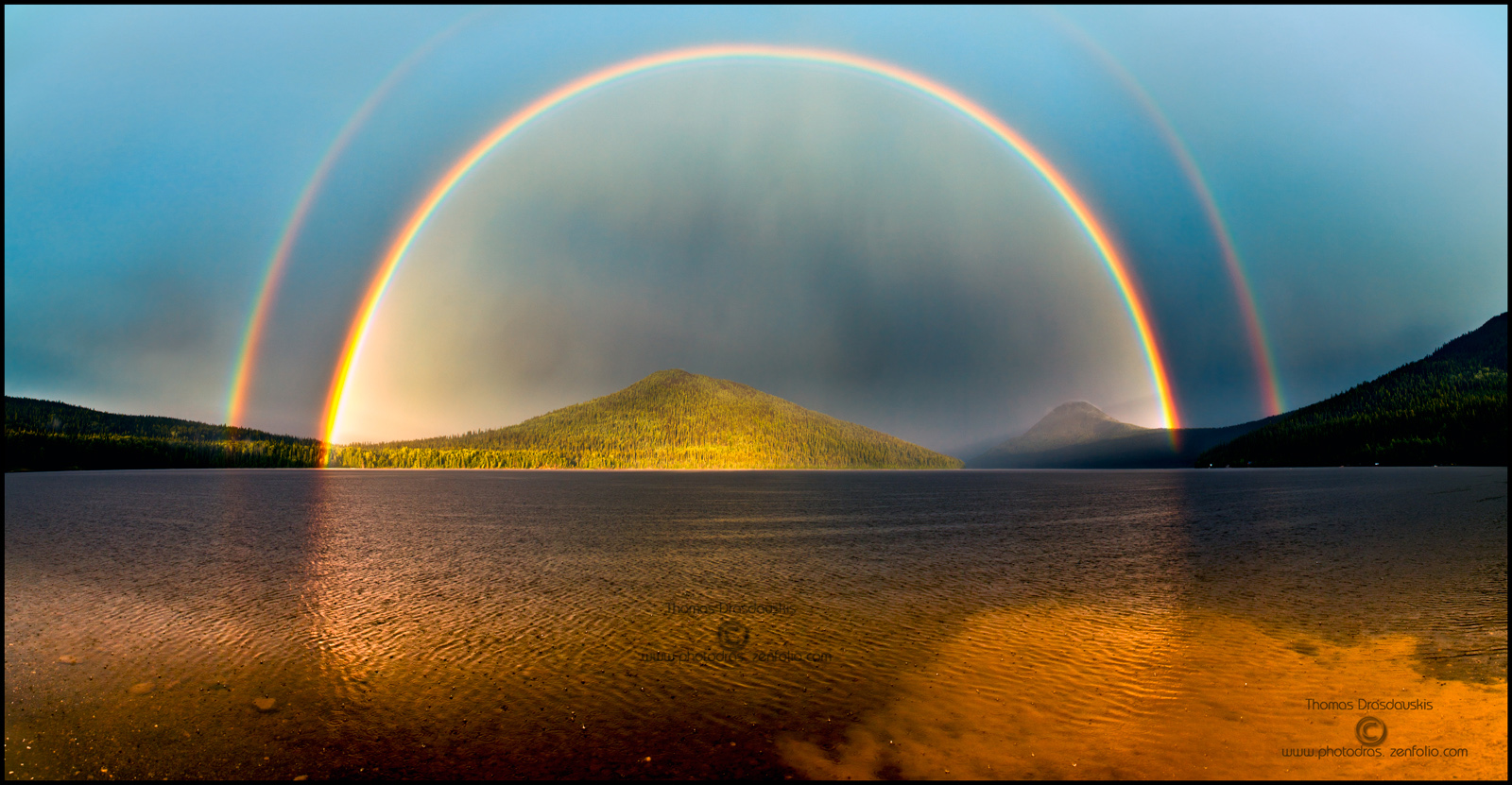 Double rainbow vector freeuse library Double Rainbow over Bowron Lake BC Canada | News from Bowron Lake ... vector freeuse library