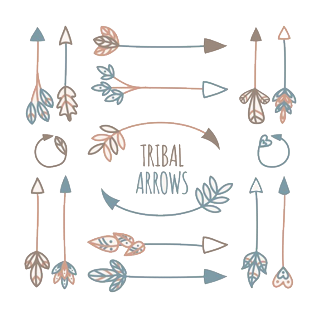 Tribal arrow clip art image free Tribe Arrow Euclidean vector Icon - Tribal Arrow element 1000*1000 ... image free