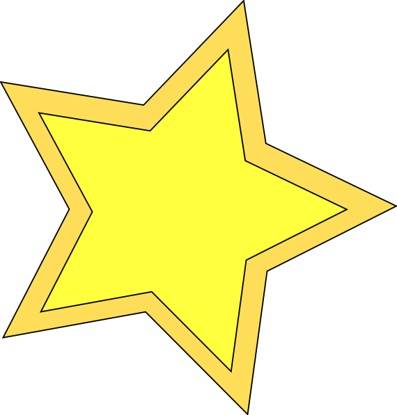 Sheriff star shape clipart clip free library Star Double Clip Art at Clker.com - vector clip art online, royalty ... clip free library