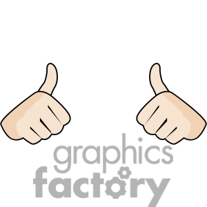 Double thumbs up clipart jpg freeuse download Two Thumbs Clipart - Clipart Kid jpg freeuse download