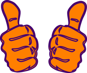 Double thumbs up clipart png transparent library Double thumbs up clipart - ClipartFest png transparent library