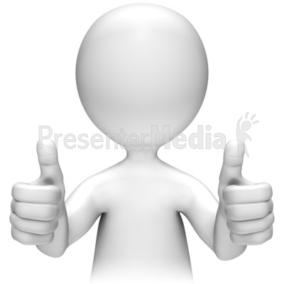 Double thumbs up clipart clip transparent library Two Thumbs Up - Presentation Clipart - Great Clipart for ... clip transparent library