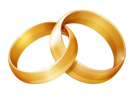 Double wedding rings clipart banner royalty free Wedding Rings Drawing | Free download best Wedding Rings Drawing on ... banner royalty free
