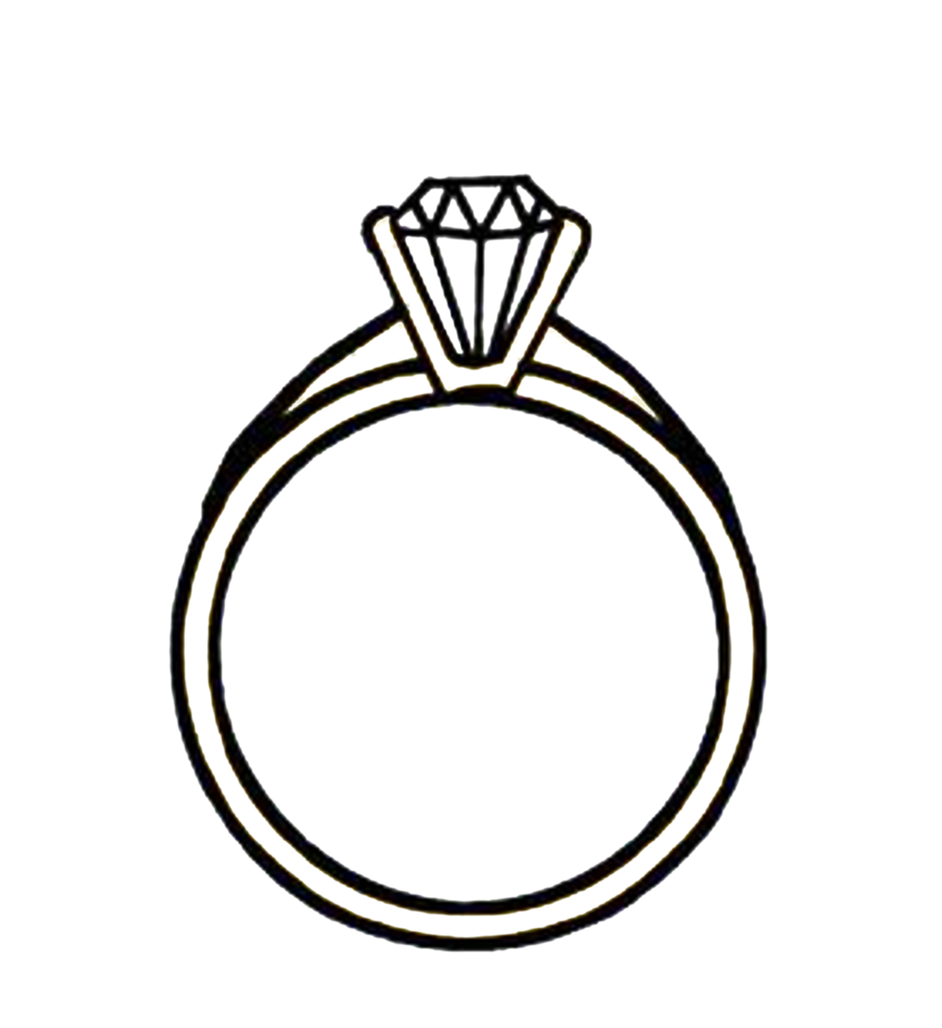 Double wedding rings clipart free jpg black and white library Free Clip art of Wedding Rings Clipart Black and White #2996 Best ... jpg black and white library