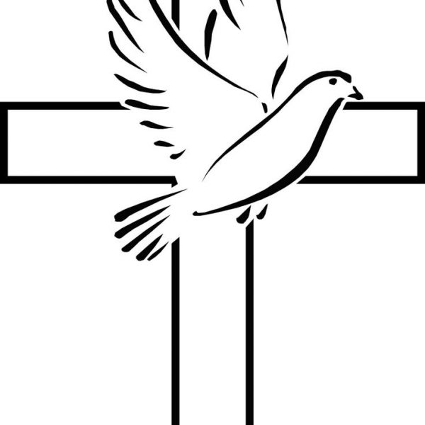 Dove and a cross clipart svg free library Dove With Cross | Free download best Dove With Cross on ClipArtMag.com svg free library