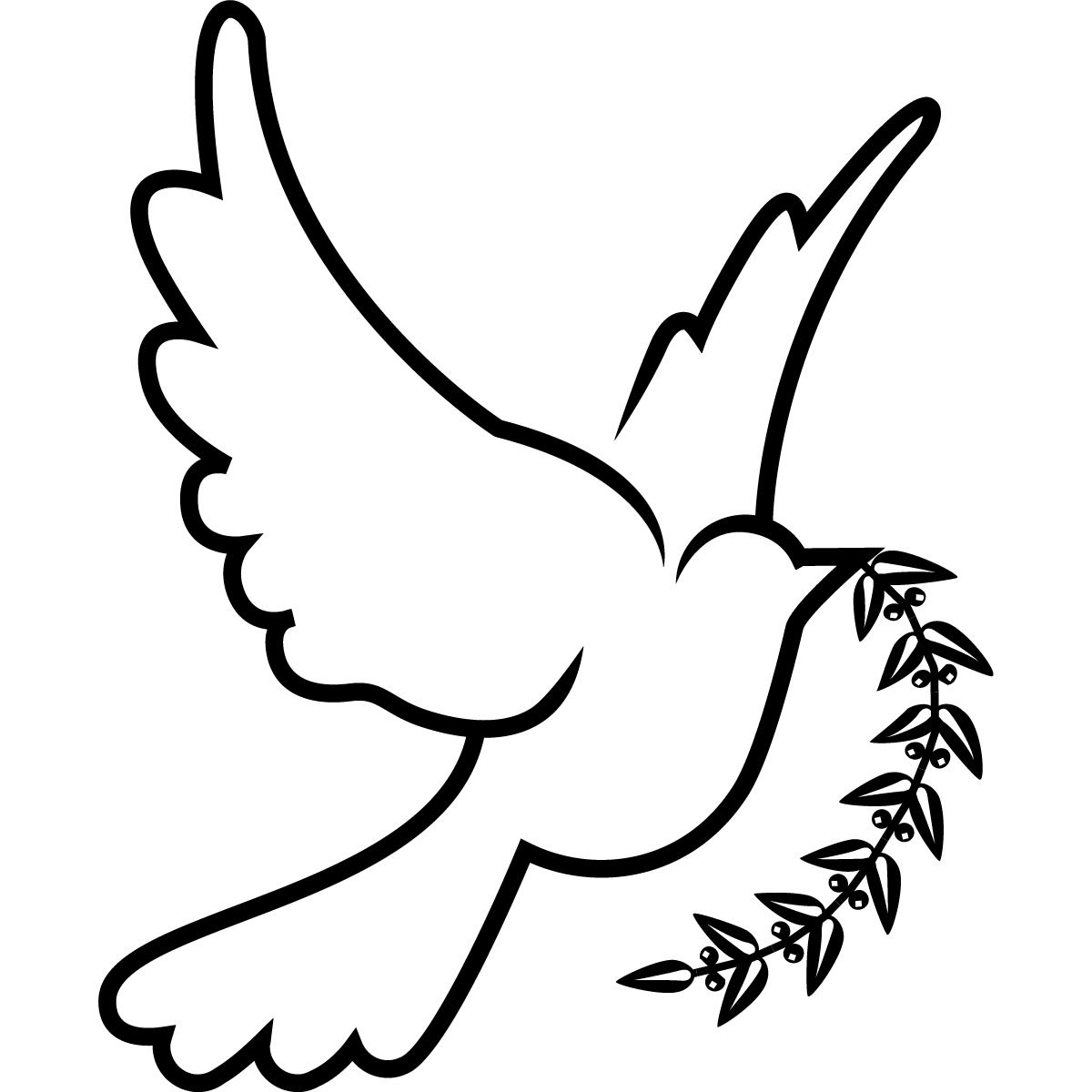 Love doves drawing clipart black and white vector freeuse download Dove Birds Drawings - ClipArt Best | Dove Drawings | Holy spirit ... vector freeuse download