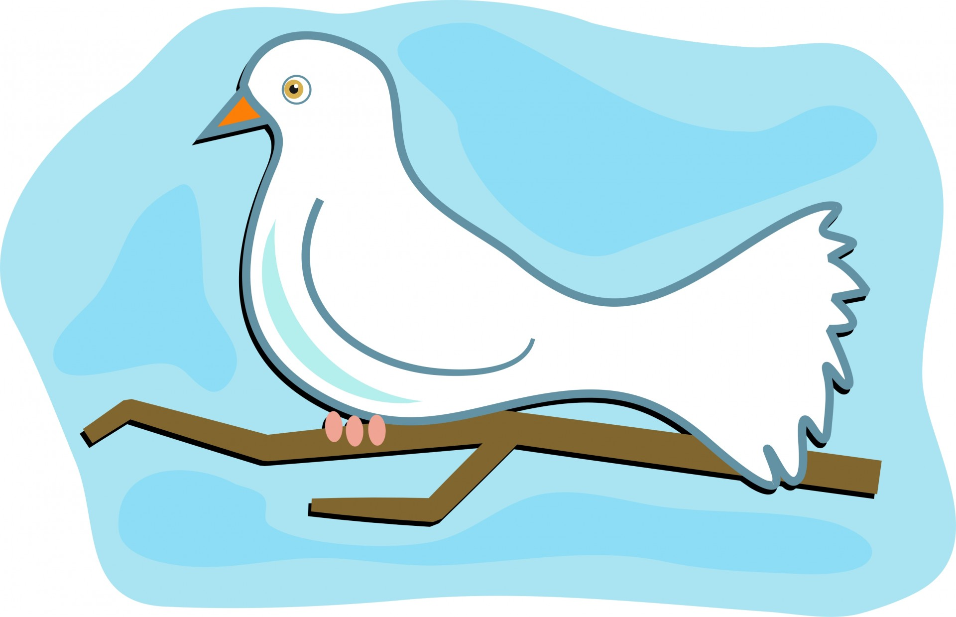 Dove clipart - ClipartFest jpg library download