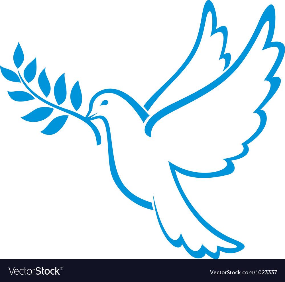Dove vector cliparts clip black and white download Peace Dove clip black and white download