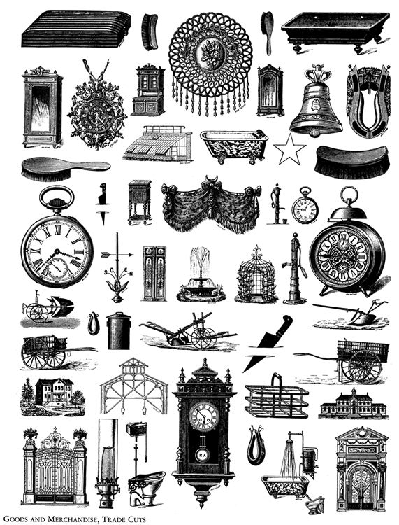 Dover books clipart jpg free library Free Printable \'Steampunk Clipart\' - Welcome to Dover Publications ... jpg free library