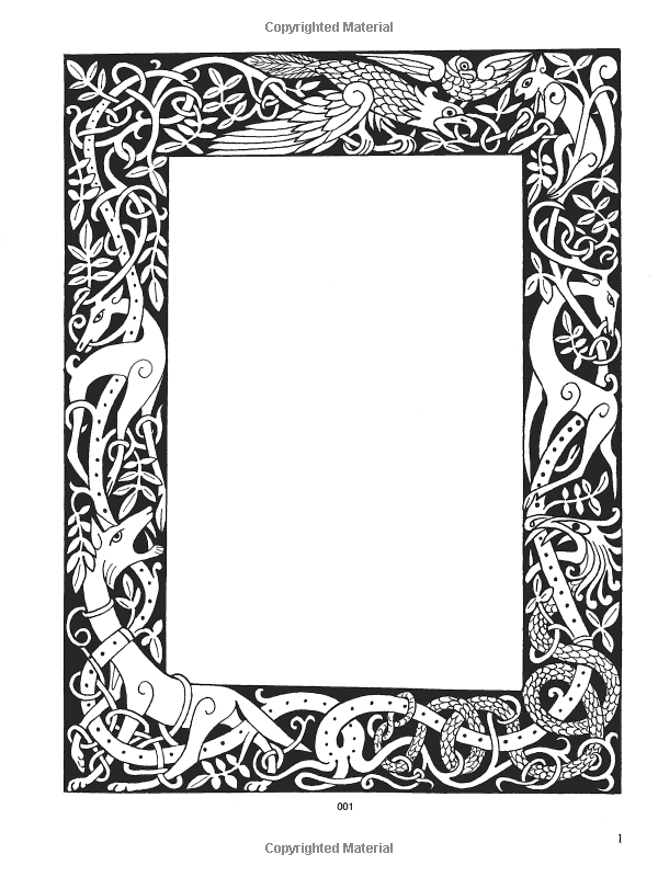 Dover clipart images clip art library download Celtic Frames and Borders CD-ROM and Book (Dover Electronic Clip Art ... clip art library download