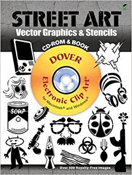 Dover graphics svg transparent library Street Art Vector Graphics & Stencils CD-ROM and Book (Dover ... svg transparent library