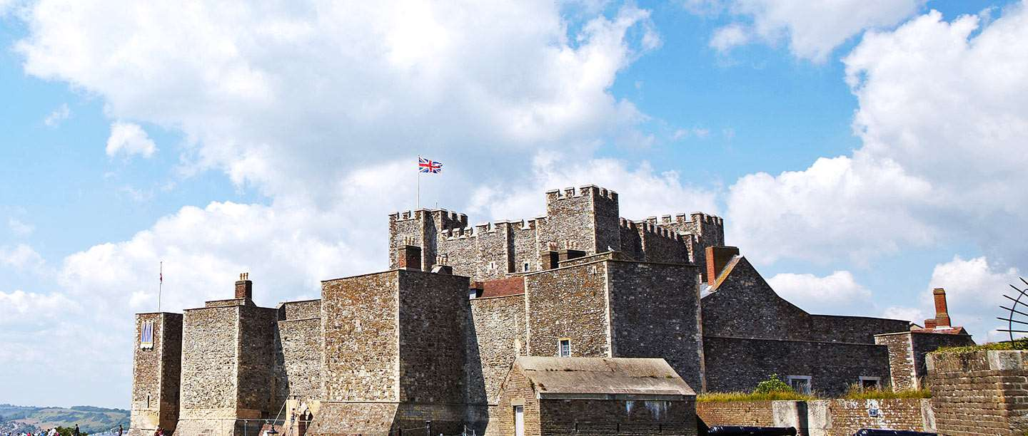 Dover image vector black and white download Dover Castle | English Heritage vector black and white download