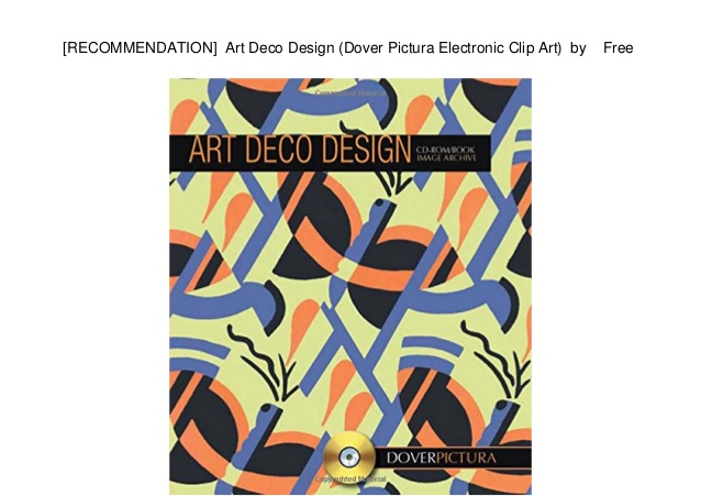 Doverpictura clipart free RECOMMENDATION] Art Deco Design (Dover Pictura Electronic Clip Art)… free