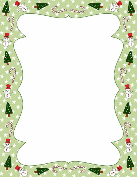 A page border featuring Christmas trees. Free downloads at http ... banner free download