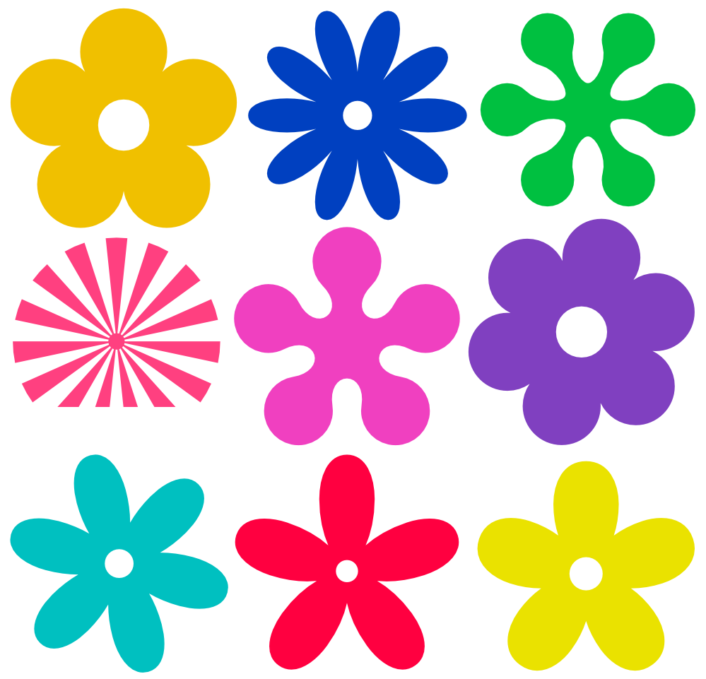 Download clip art flower clipart library library Flower clip art free download - ClipartFest clipart library library