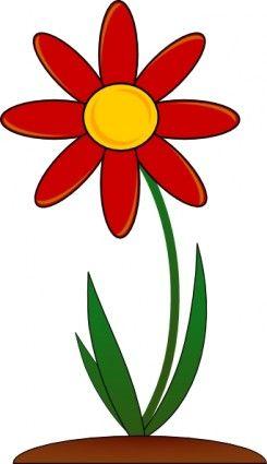 Download clip art flower clip art free download Spring flowers clip art border Free vector for free download ... clip art free download