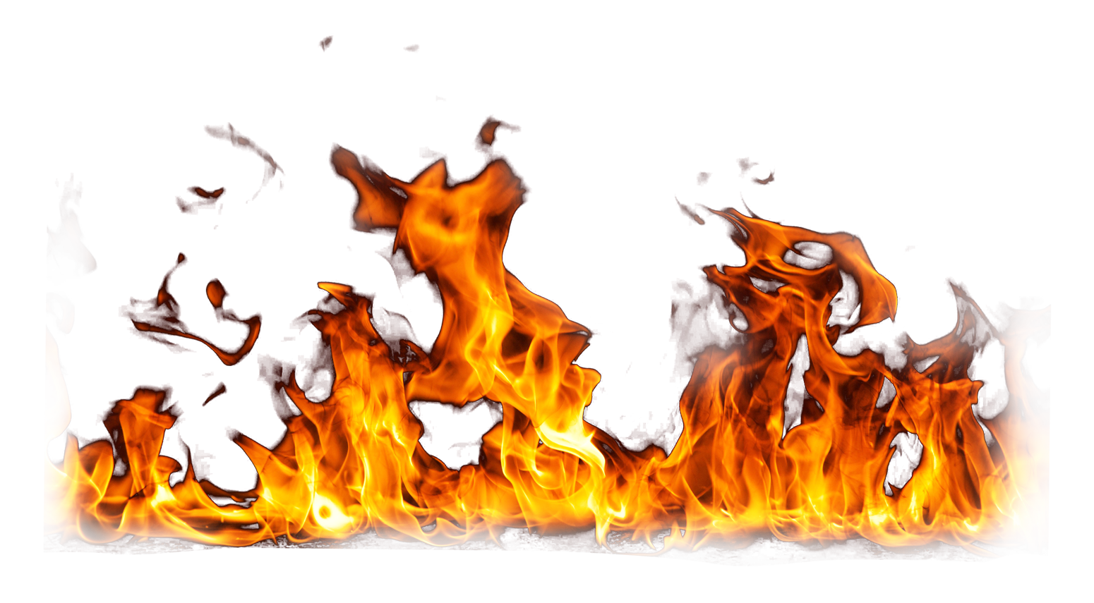 Fire Png Image Download Clipart - 6800 - TransparentPNG clipart black and white library